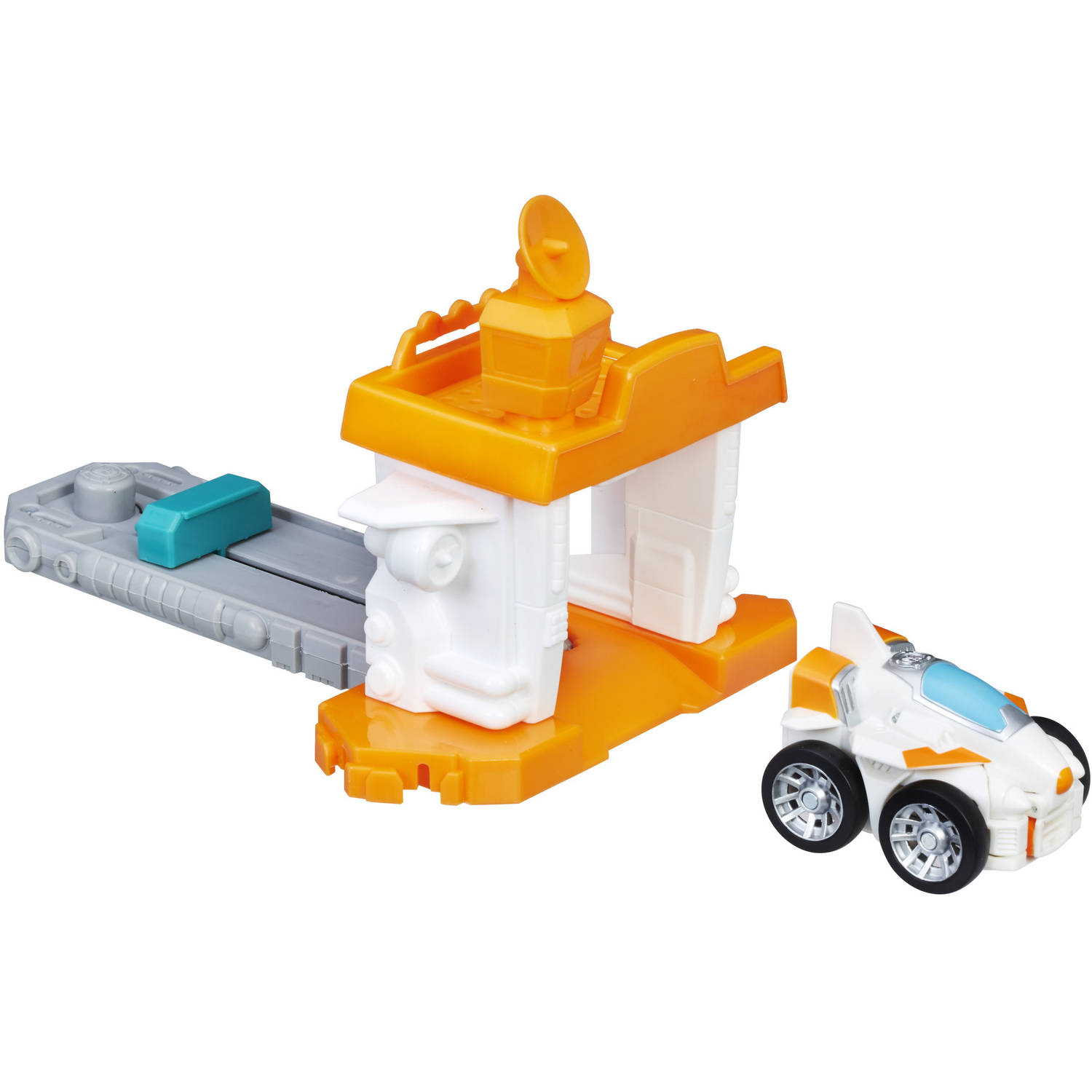 Playskool Heroes Transformers Rescue Bots Flip Racers Airport Blastoff Blades by