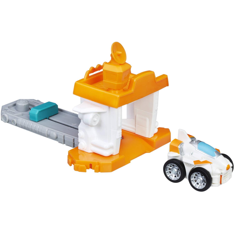 Playskool Heroes Transformers Rescue Bots Flip Racers Airport Blastoff Blades