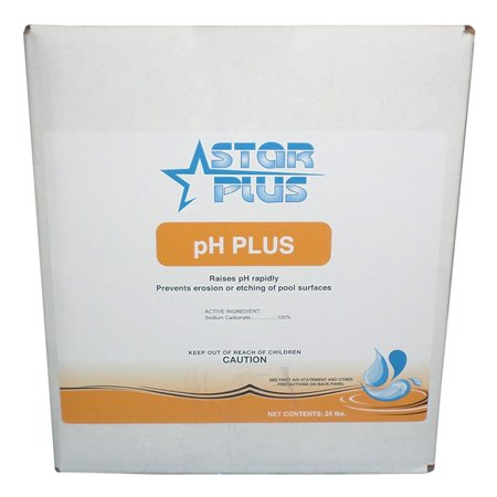 Star Plus Ph Plus Sodium Carbonate Ph Increaser For Swimming Pools  25 Pounds