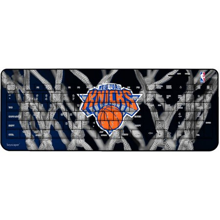 New York Knicks Net Design Wireless USB Keyboard by Keyscaper by