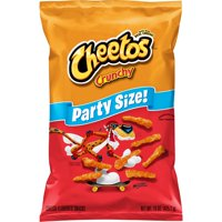 Cheetos Crunchy Cheese Flavored Snacks, Party Size, 15 oz Bag