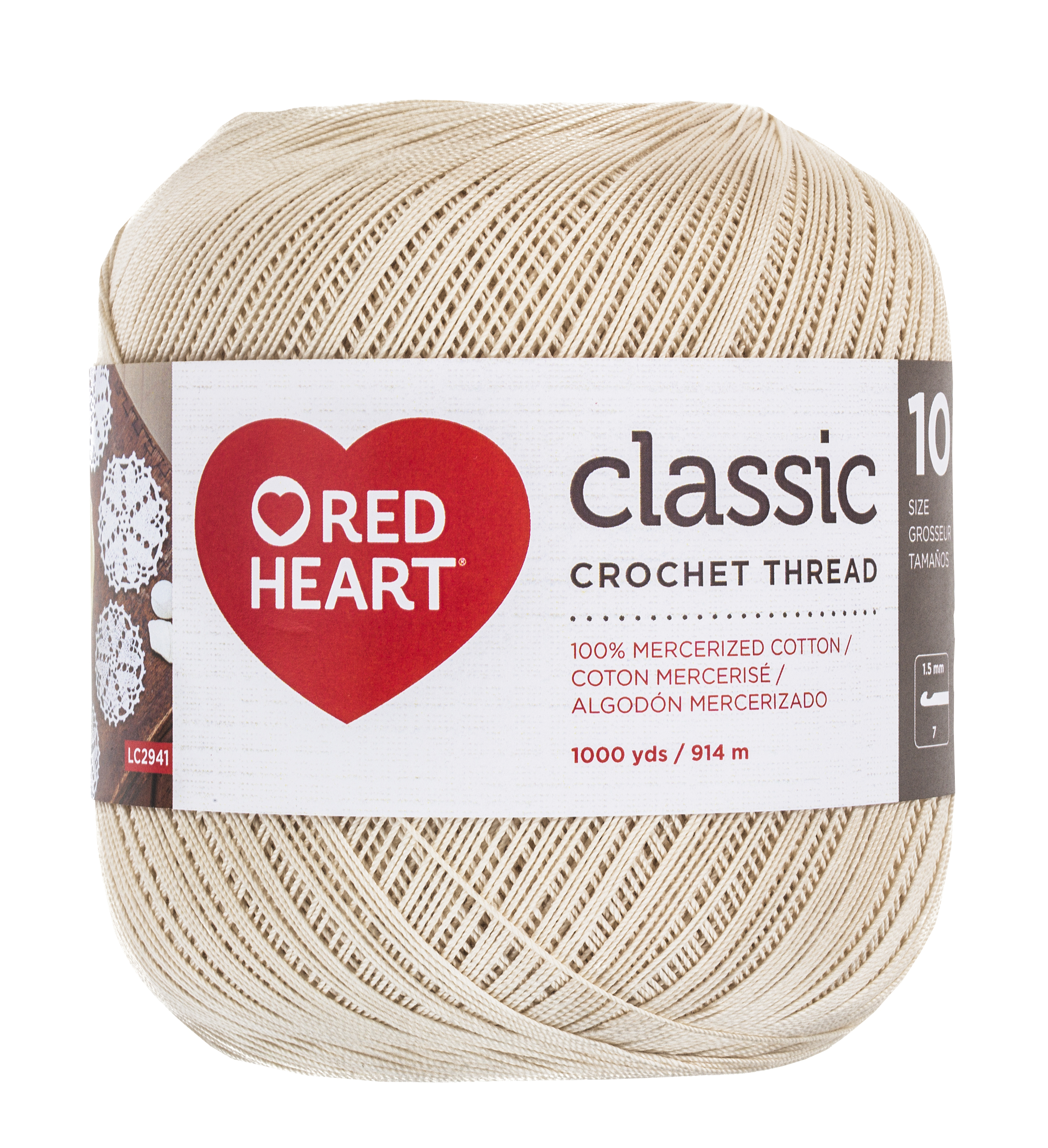 RED HEART CLASSIC 10 NATURAL