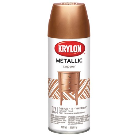 Krylon Metallic Spray Paint, 11 oz., Copper