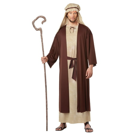 California Costumes Men's Saint Joseph Adult (X-Large, Tan/Brown) (Saints Steelers Halloween)