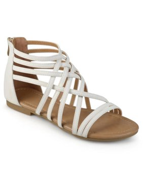 Product Image Womens Strappy Gladiator Flat Sandals 3bec99a4b8