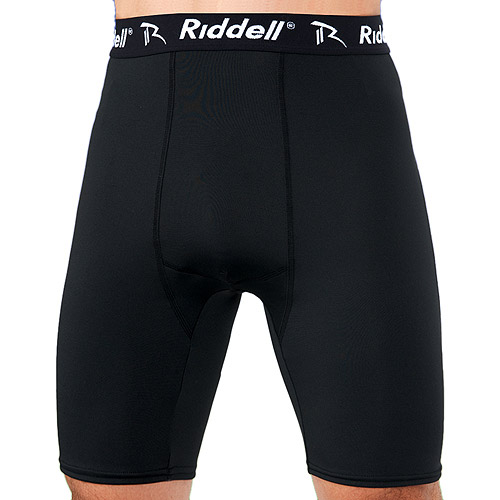 Riddell Compression Shorts - antimicrobial, Bio Dri Fabric (Youth)