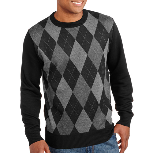 Men's Jacquard Crew Sweater
