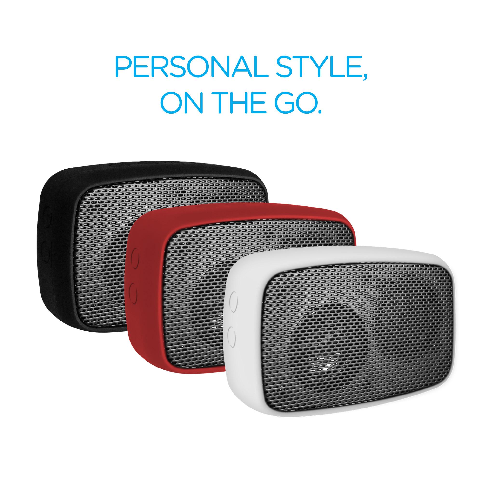 Ruggedlife Water Resistant Bluetooth Speaker And Speakerphone Black Color