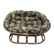 Double Papasan Cushion w Soft Jacquard Chenille (Jaquard Cheneel Antiquity)