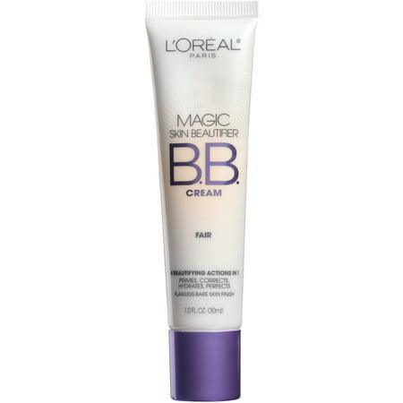 L'Oreal Paris Magic Skin Beautifier BB Cream, Fair, 1 fl. oz.