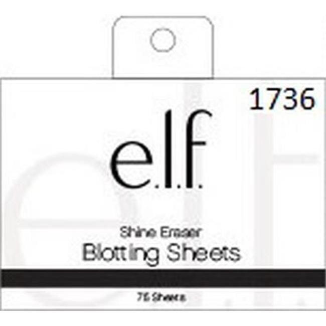 E.L.F. Shine Eraser Oil Blotting Sheets, 50 Count by E.L.F. Cosmetics