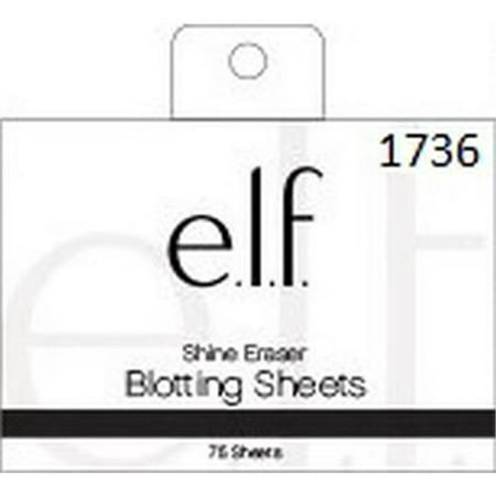 E L F  Shine Eraser Oil Blotting Sheets  50 Count