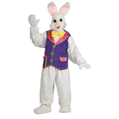 Bunny Vest (IN-13596032 Adult's Deluxe Bunny Mascot Costume With)
