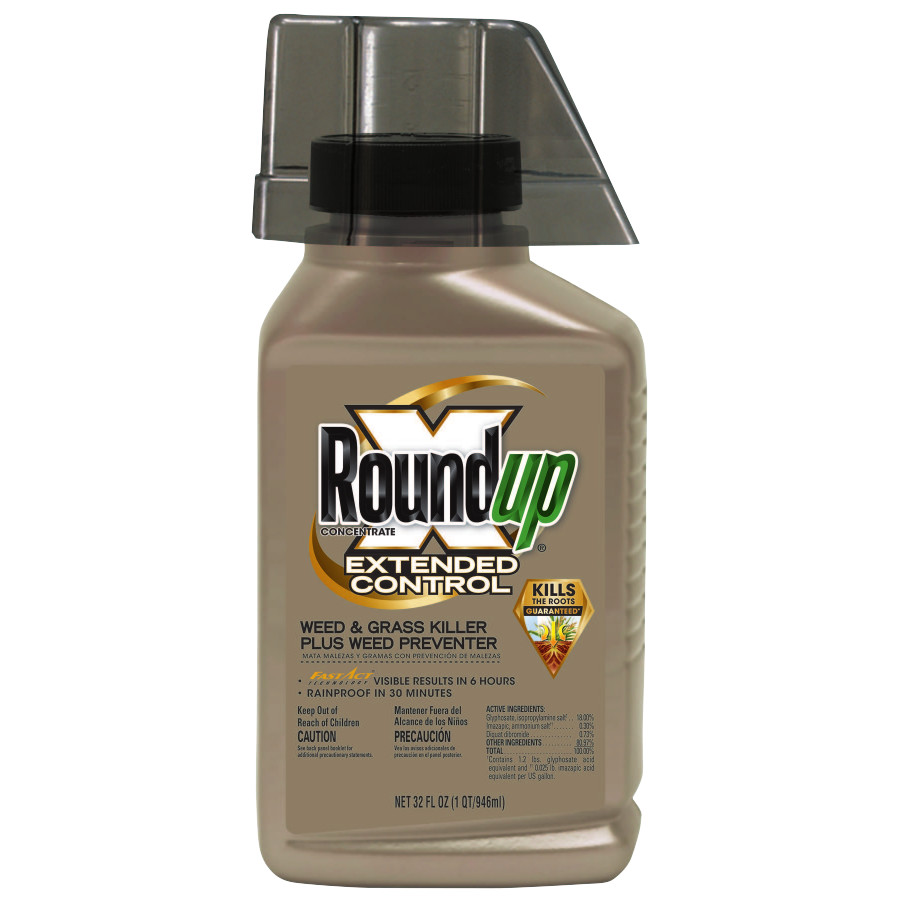 RoundupConcentrate Extended Control Weed & Grass Killer Plus Weed Preventer II