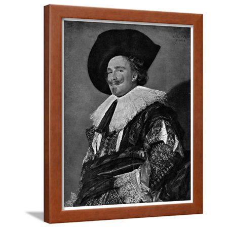 (The Laughing Cavalier, 1624 Framed Print Wall Art By Frans Hals)