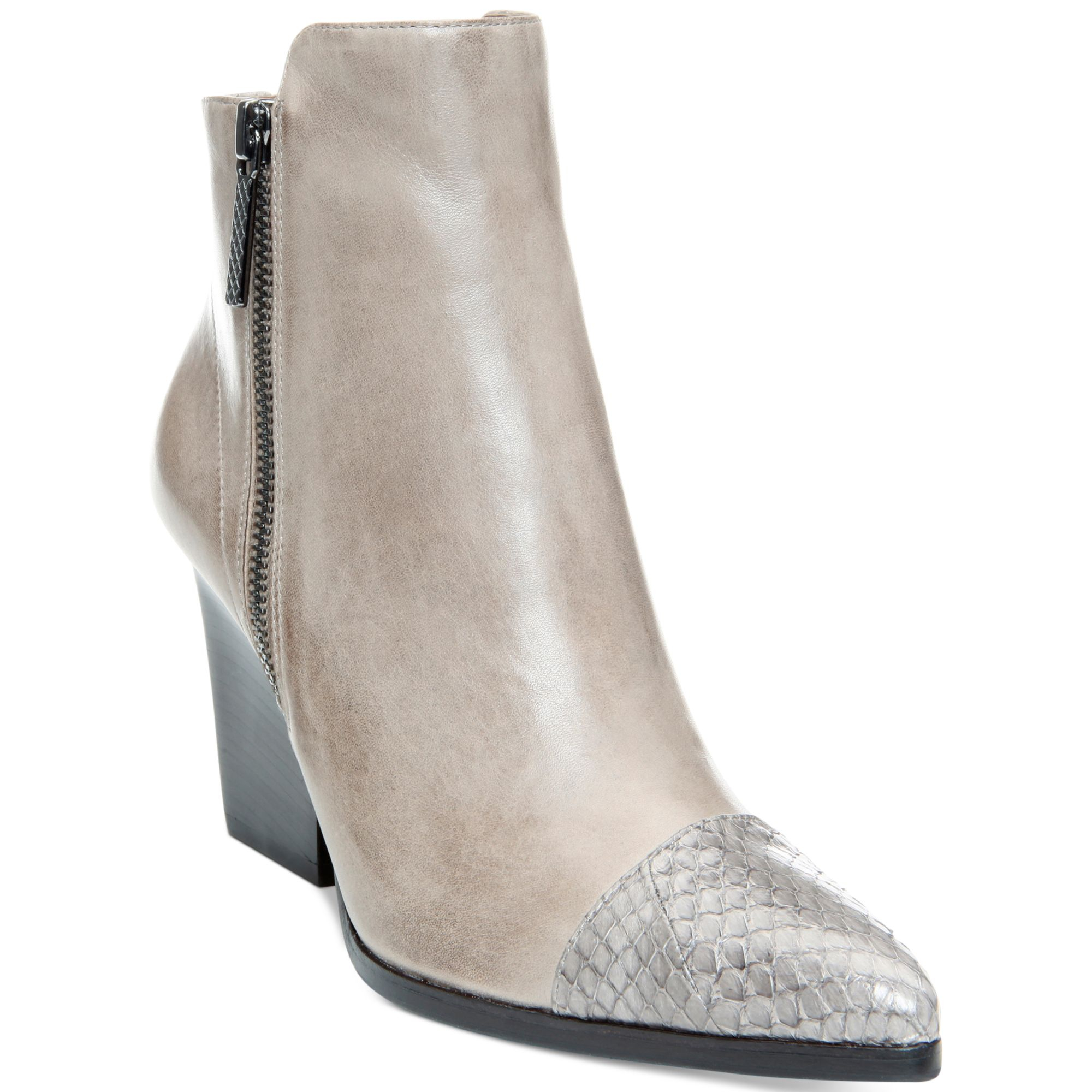 Donald J Pliner Womens Volt Leather Closed Toe Ankle Fashion Boots by Donald J Pliner