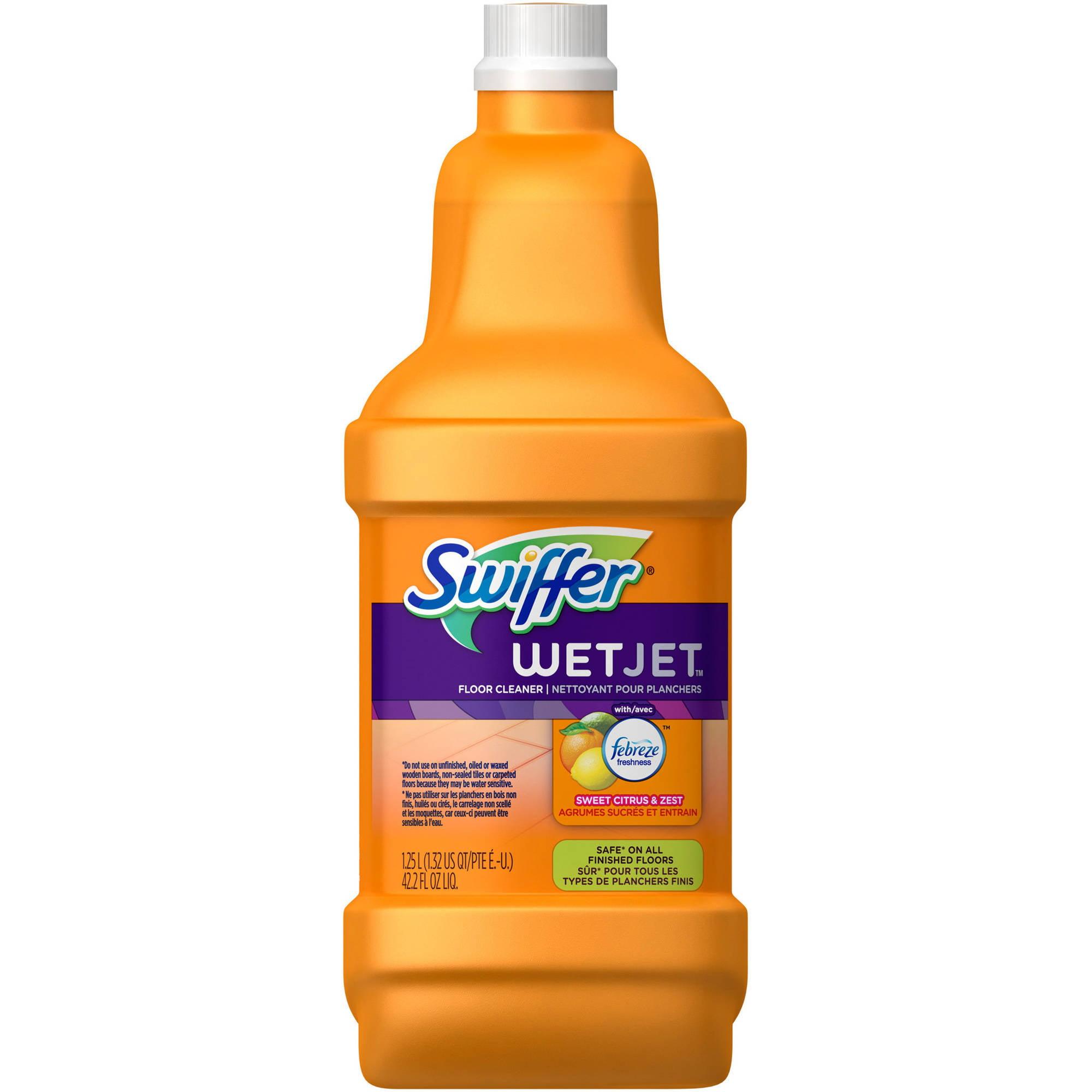 Swiffer wetjet wood floor cleaner - Swiffer Wetjet Wood Floor Cleaner 3