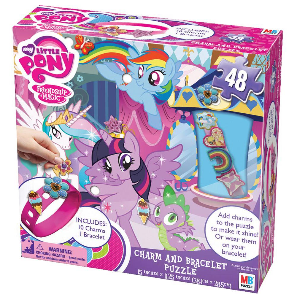 My Little Pony Charm and Bracelet 48 Piece Puzzle,  Kids Puzzles by Cardinal