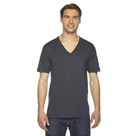 American Apparel 2456W Men's Fine Jersey V-Neck T-Shirt American Apparel Jersey Tee