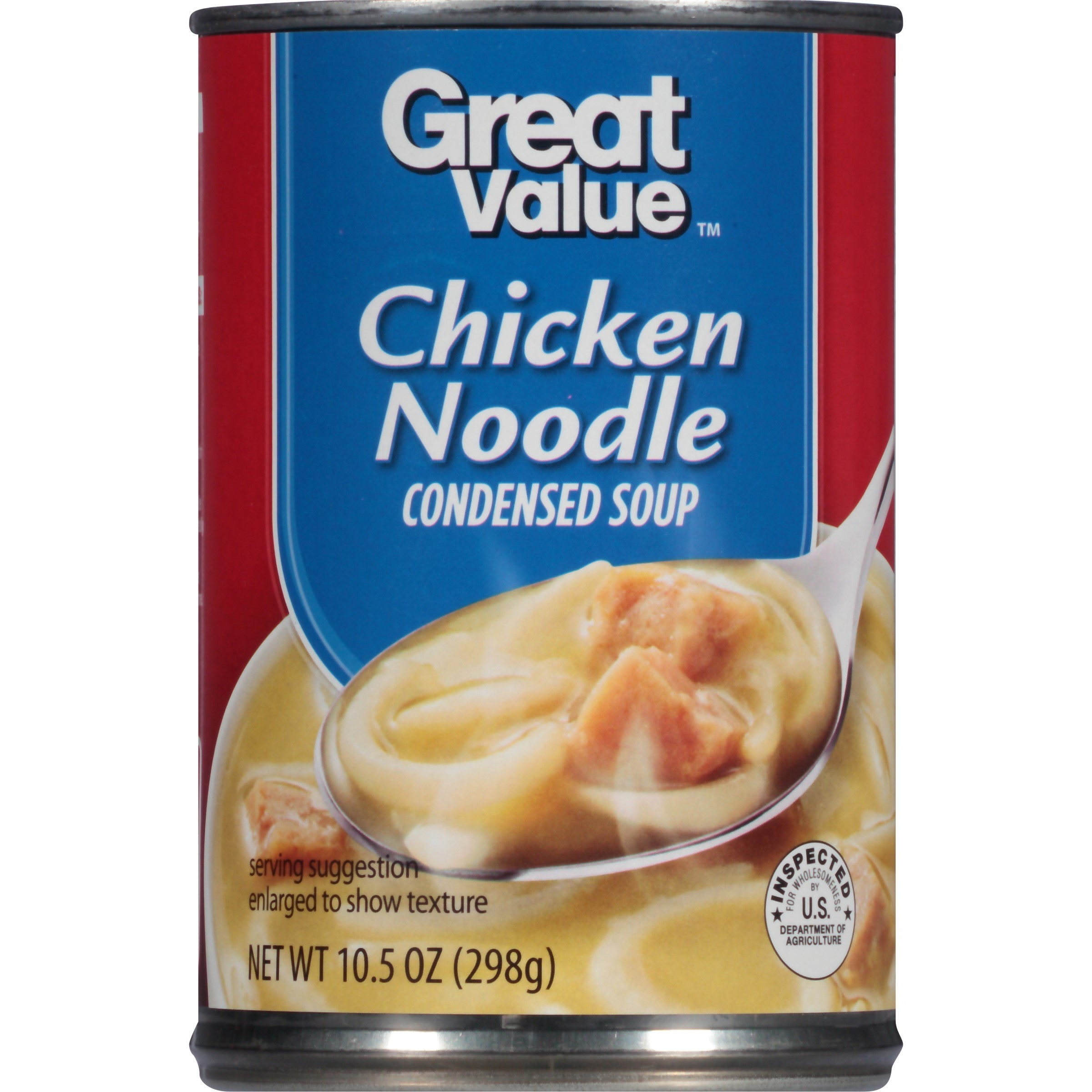 Great Value Condensed Soup, Chicken Noodle, 10.5 Oz