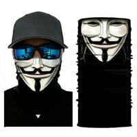 Joker Motorcycle Cycling Neck Scarf Half Face Mask Bandana Ski Headband