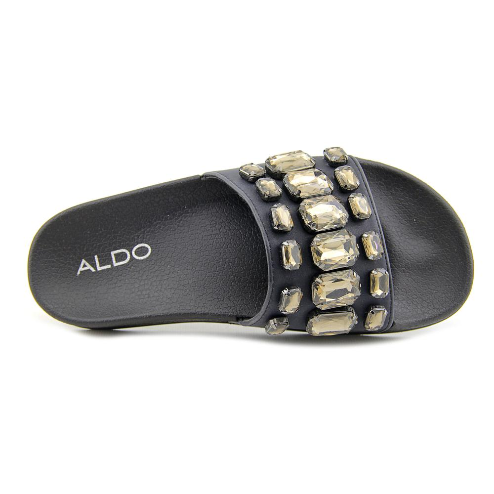 Aldo Frigossi Leather   Open Toe Leather Frigossi  Slides Sandal 35299e