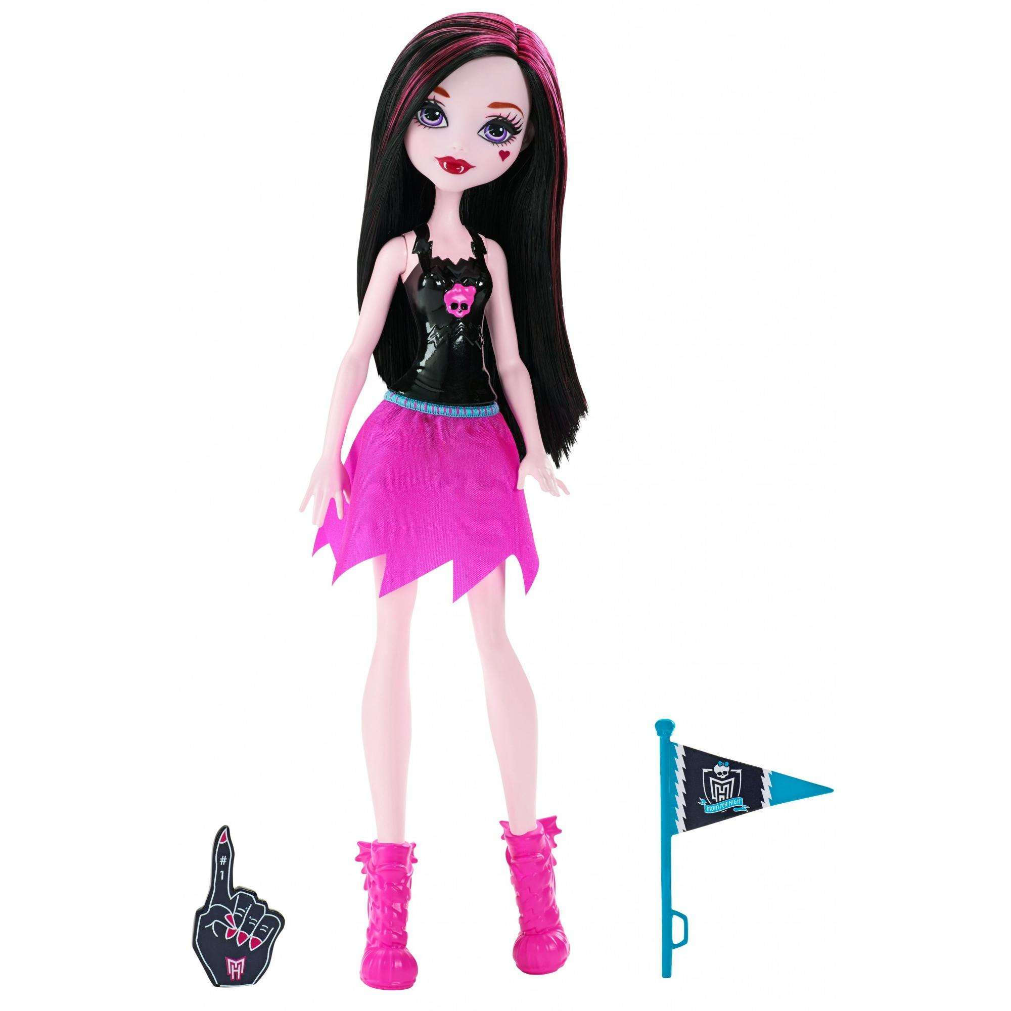 Monster High Cheerleader Draculaura Doll by Mattel
