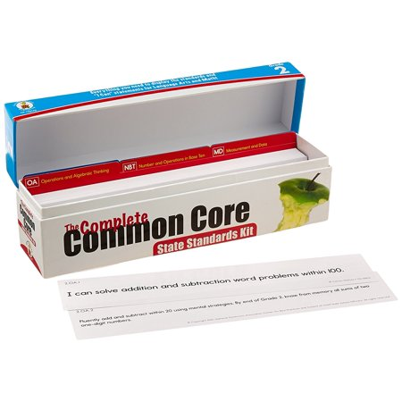 Carson Dellosa The Complete Common Core State Standards Kit Pocket Chart Cards  158170   Perfect All Inclusive Resource For Teachers By Carson Dellosa