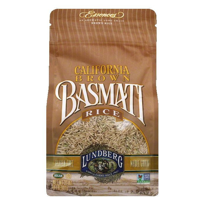 Lundberg Family Farms Eco-Farmed California Brown Basmati Rice, 32 oz