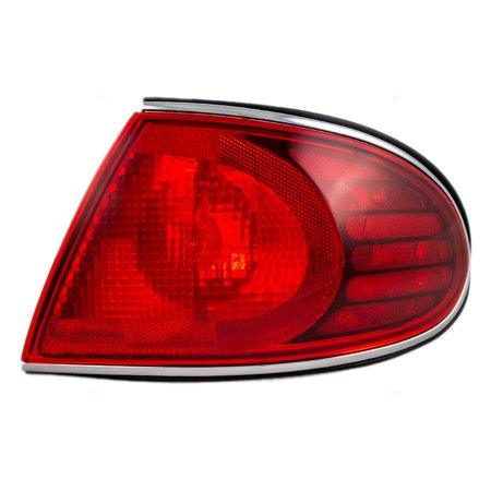 Pengers Taillight Quarter Panel Mounted Tail Lamp Replacement For Buick 19244606