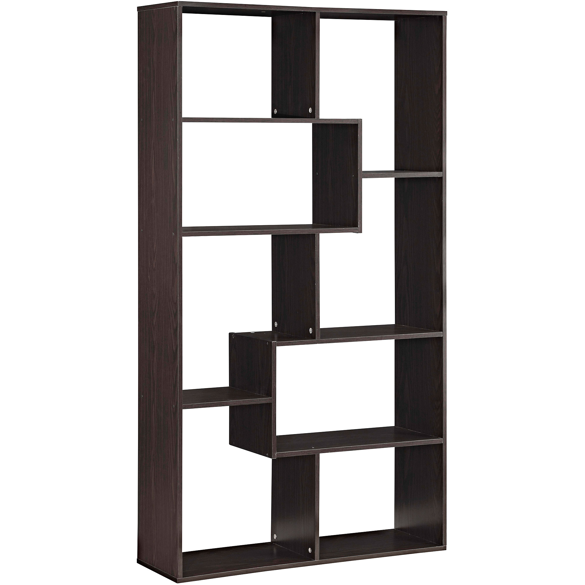 milder furniture bookcase high to with back office walls on partitions both and in create shelving dividers add compartments bookcases are storage sides open deep your shelves workspace products