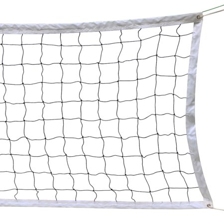 Topeakmart Portable Volleyball Net With Steel Cable Rope Official Size Beach Outdoor Indoor 32 FTx3