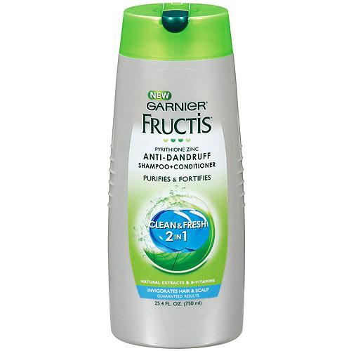 Garnier Fructis Clean And Fresh 2-In-1 Anti-Dandruff Shampoo + Conditioner, 25.4 oz
