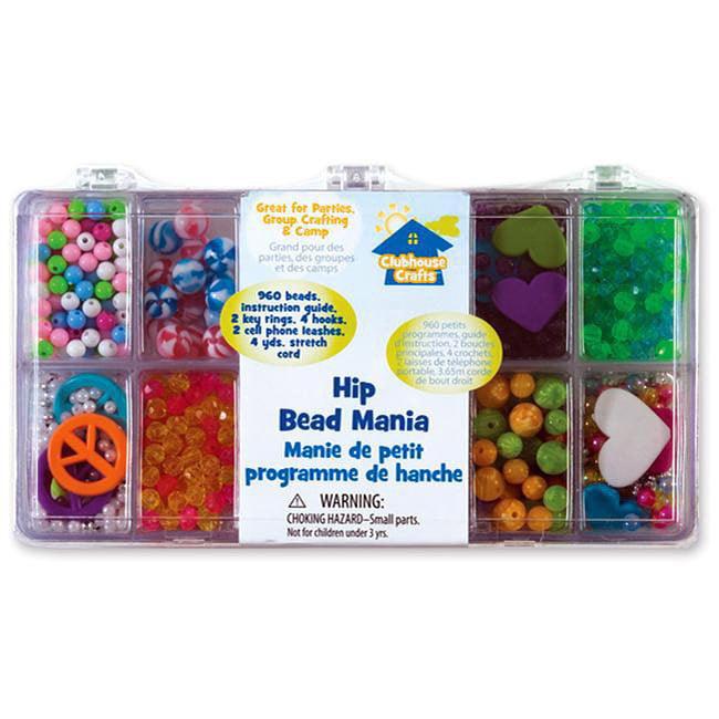 Advantus Clubhouse Crafts 'Hip' Bead Mania Kit