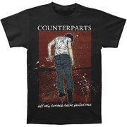 Counterparts Men's  Failed T-shirt Black