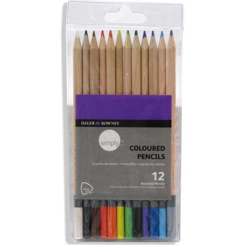 Simply Colored Pencils, 12pk
