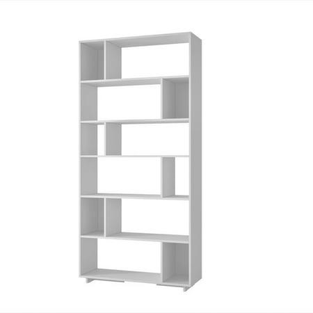 Manhattan Comfort Maringa 12 Shelf Bookcase in White - image 1 de 2