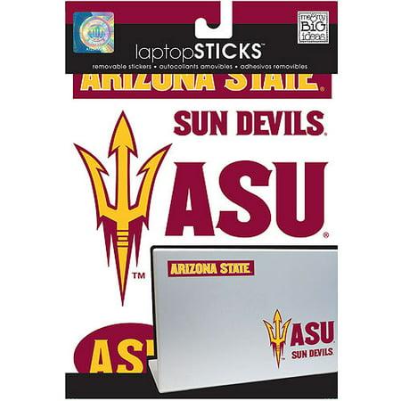 me&my BIG ideas laptopSTICKS Removable Laptop Stickers Arizona State Sun - Team Recognition Ideas