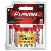 Ray-O-Vac 8144TFUS Fusion Performance Alkaline Batteries - C