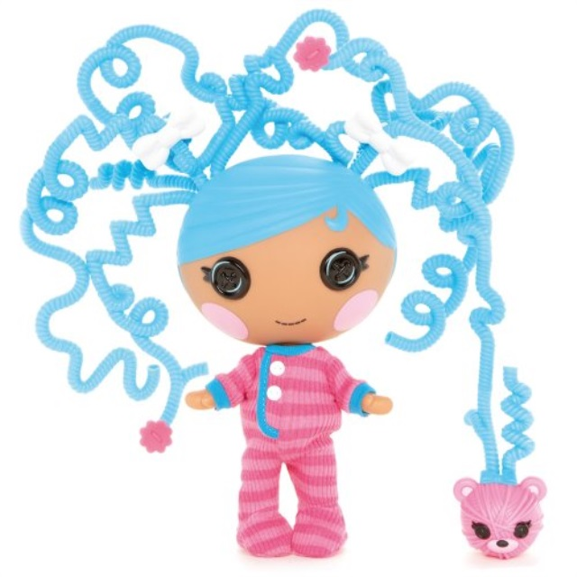 lalaloopsy littles silly hair doll, bundles snuggle stuff