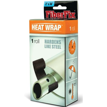 FiberFix Heat Wrap - For Exhaust Pipes and High Temp Repairs