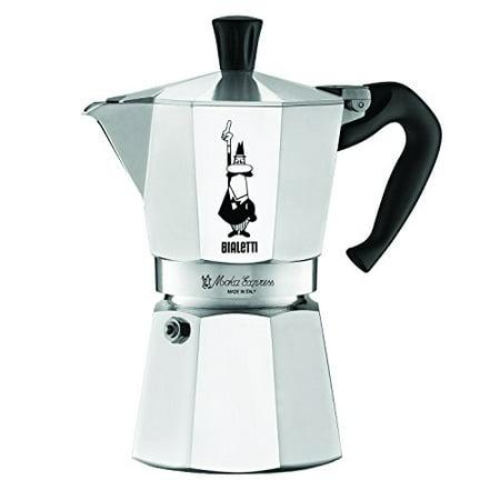 Bialetti 6-Cup Stovetop Espresso - Bialetti Stovetop