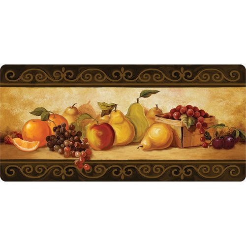 BuyMATS Inc. Cushion Comfort Gourmet Fruit Kitchen Mat