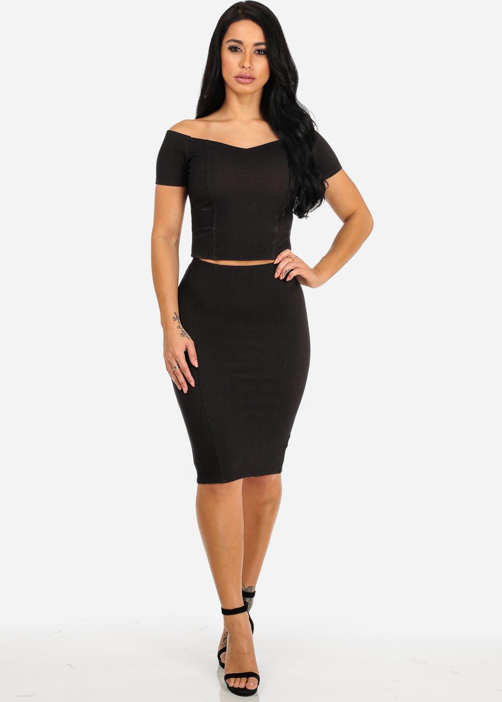 21ed22fee89c Off The Shoulder Pencil Skirt Dress – DACC