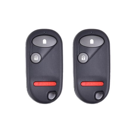 2x Keyless Entry Remote Car Key FOB Control NHVWB1U523 For 2001-2005 Honda Civic