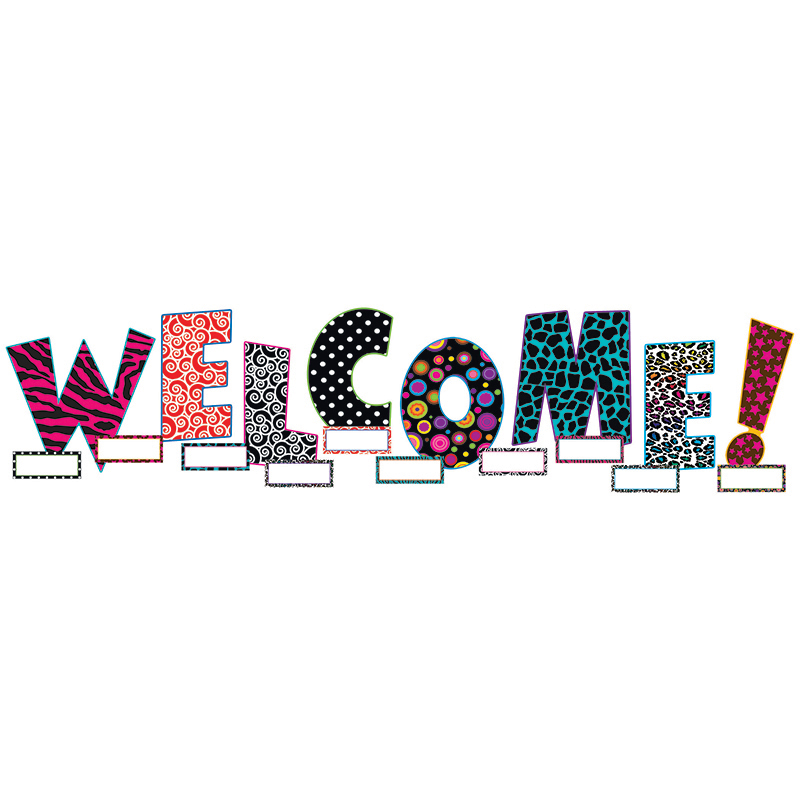 WELCOME BULLETIN BOARD SET