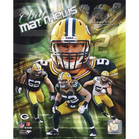 Clay Matthews 2011 Portrait Plus Sports Photo](Clay Matthews Halloween)