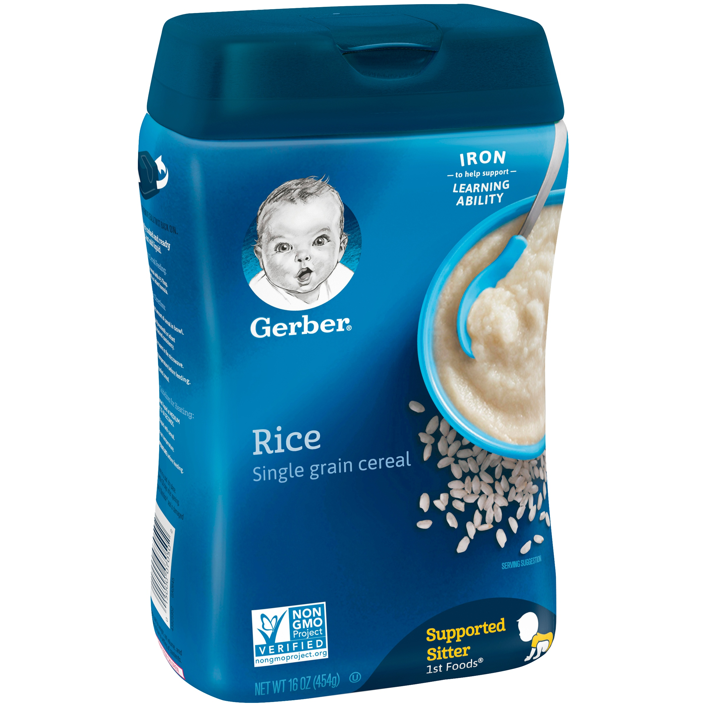 <mark>Gerber</mark> Single-Grain Rice <mark>Baby</mark> Cereal, 16 oz