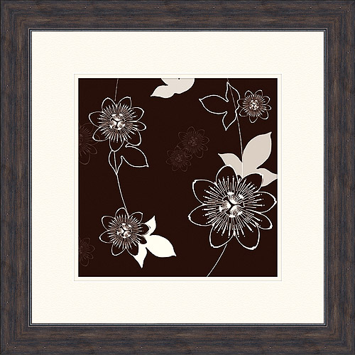 Floral in Motion Framed Artwork, I by