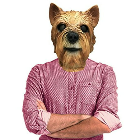 Yorkie Yorkshire Terrier Dog Costume Face Mask - Off the Wall Toys Kennel Club - Yorkshire Halloween Costumes